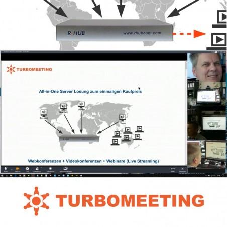 Videokonferenz Server für Team Meetings