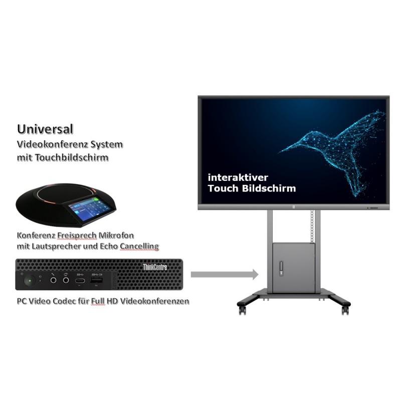 UC Collaboration Touchbildschirm 55