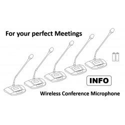 Konferenz Funk Mikrofone