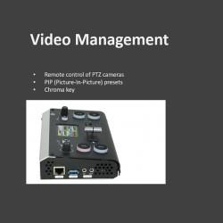 Video Mischer mit PTZ Control