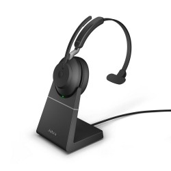 Jabra Evolve2 Headset Mono mit Ladestation