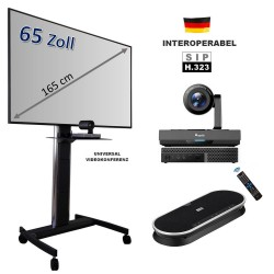 Mobiles All-in-One Videokonferenzsystem