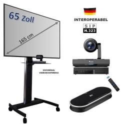 Mobiles All-in-One Videokonferenzsystem