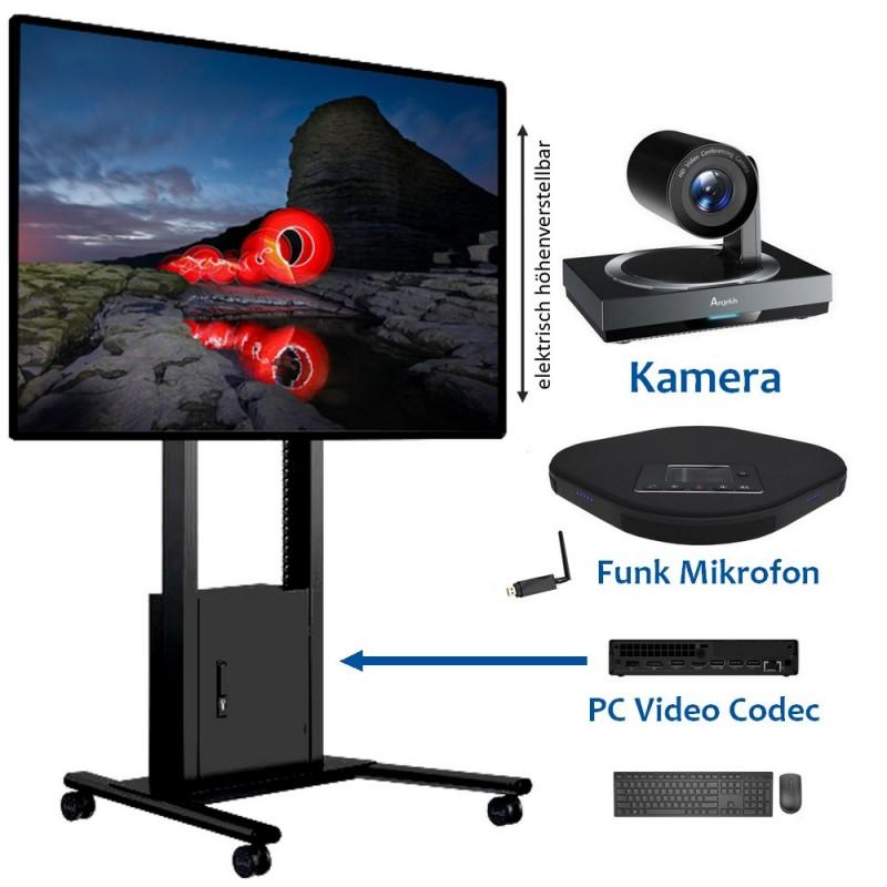 75 Zoll Touchbildschirm und Universal Videokonferenzsystem