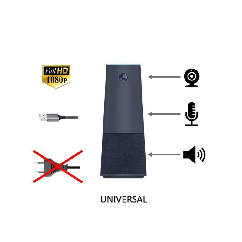 HomeOffice und Konferenzkamera 4 Mikrofone 360 Grad für Konferenztisch